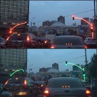 Thú vị chưa, đây là đèn giao thông tại Ukraine