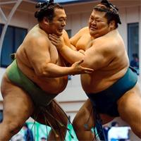"""Không ngờ da thịt võ sĩ sumo chạm nhau lại """"tàn khốc"""" thế này cơ đấy"""