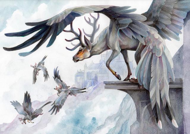 Sinh vật đáng sợ trong thần thoại.
