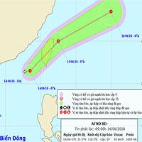 Xuất hiện áp thấp nhiệt đới trên biển Đông, đêm nay Hà Nội có mưa to