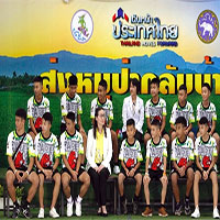 Đội bóng Lợn Hoang của Thái Lan kể chuyện mắc kẹt trong hang Tham Luang