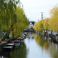 Thành phố được ví như Venice của Nhật Bản