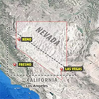 """Hung thủ giấu mặt ở """"Tam giác quỷ"""" Nevada?"""