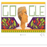 Google thay đổi Doodle để tôn vinh Baba Amte