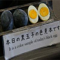 Loại trứng đen kỳ lạ của người Nhật, ai cũng ao ước được ăn 1 lần