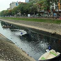 Thử nghiệm làm sạch bằng công nghệ Nhật Bản: Nước sông Tô Lịch bớt mùi, chỉ số môi trường thay đổi tích cực