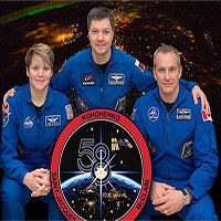 3 phi hành gia trên Trạm Vũ trụ Quốc tế đã trở về an toàn