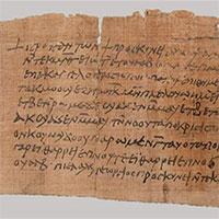 Lá thư Kitô giáo lâu đời nhất thế giới được tìm thấy