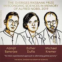 Giải Nobel Kinh tế 2019 gọi tên nỗ lực giảm nghèo toàn cầu