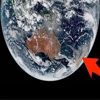 Cháy rừng tại Australia nhìn từ không gian