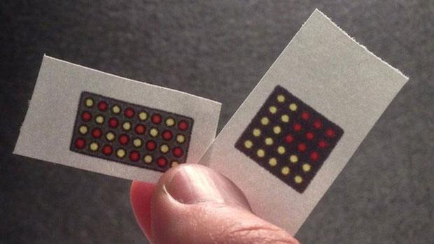 Các cảm biến này có thể hoạt động trên nhựa, thạch anh và cả vải.