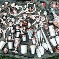 """""""Kho báu"""" từ thời Thế chiến II bất ngờ được tìm thấy ở lâu đài cổ tại Ba Lan"""