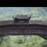 Cầu vòm gỗ không dùng đinh trụ vững hàng nghìn năm