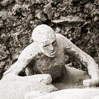 Tìm thấy bộ não thuỷ tinh hoá cực hiếm của nạn nhân thảm họa Pompeii