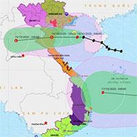 Bão số 7 hướng vào Thái Bình - Nghệ An