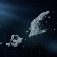 3 tiểu hành tinh liên tiếp lao sượt qua Trái đất