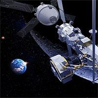 """Anh xây dựng """"trạm xăng"""" đầu tiên trên không gian"""