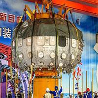 """""""Mặt trời nhân tạo"""" của Trung Quốc bắt đầu hoạt động"""