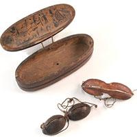 Đây là những chiếc kính bảo hộ đầu tiên của loài người