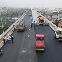 Cầu Thăng Long trước ngày thông xe trở lại