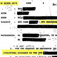 Hé lộ hàng trăm tài liệu liên quan đến UFO của CIA