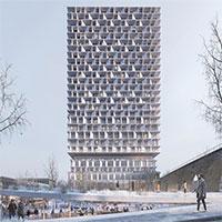 Dự án xây tòa tháp cao 85m bằng gỗ
