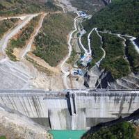 Trung Quốc xây đập hình vòm lớn thứ ba thế giới
