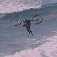 Thử nghiệm bộ đồ bay cá nhân gắn hai cánh quạt