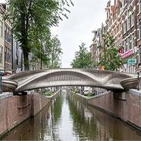 Chế tạo thành công cây cầu thép in 3D đầu tiên trên thế giới