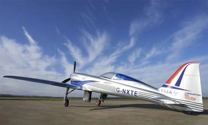 Mô hình máy bay Electric NXT đã được phát triển trong ba năm qua.