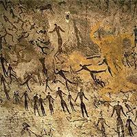 Những bích họa bí ẩn ở sa mạc Sahara