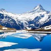 1.200 hồ nước mới hình thành trên dãy Alps