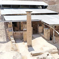 Phát hiện phòng ăn được xây dựng từ thế kỷ thứ 2 trước Công nguyên