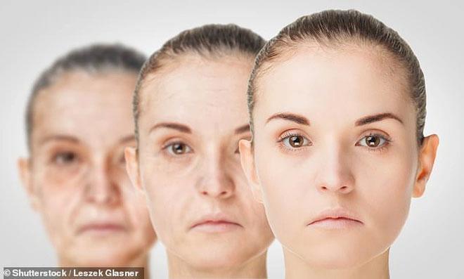 Khuôn mặt con người trở nên kém cân xứng khi nhiều tuổi.