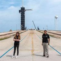 SpaceX sắp phóng tàu chở toàn hành khách tư nhân lên vũ trụ