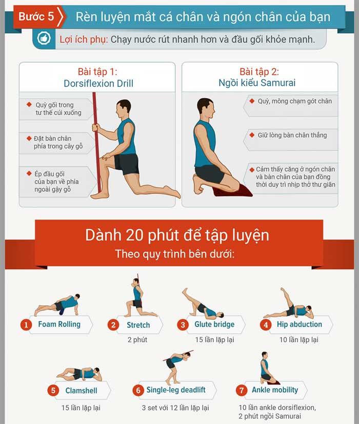Bài tập đơn giản để ngăn ngừa và cải thiện chấn thương chân