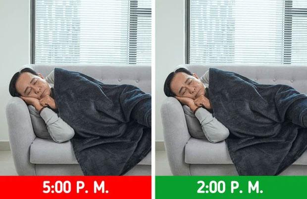 Nhìn chung, giấc ngủ trưa chỉ nên kết thúc vào trước 3h chiều mà thôi.