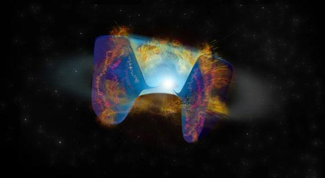 Siêu tân tinh kỳ lạ vừa được phát hiện qua tín hiệu vô tuyến bất ngờ