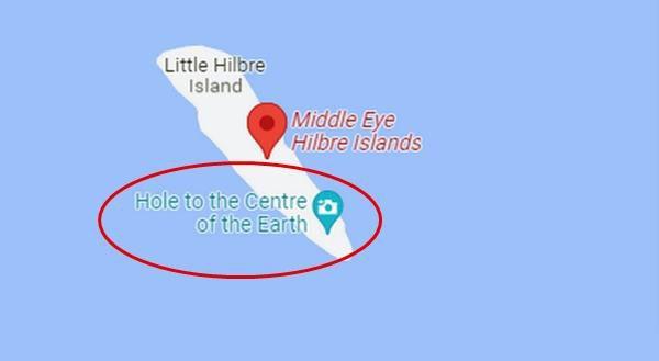 Hiện nay địa điểm bí ẩn mà Rory tìm thấy đã được xóa khỏi Google Maps.