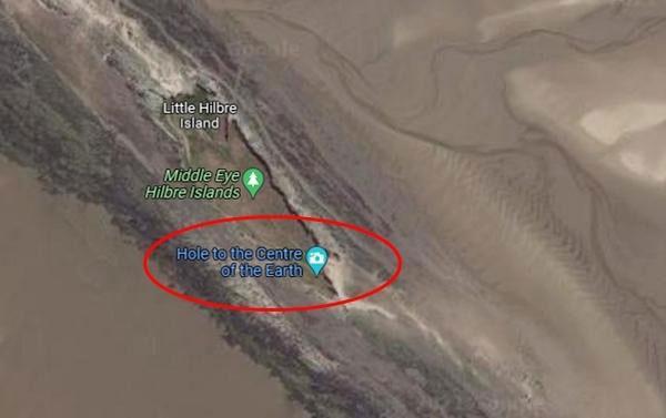 Bố của Rory đã đăng ảnh lên mạng để hỏi xem có ai biết về địa điểm kỳ lạ này không.