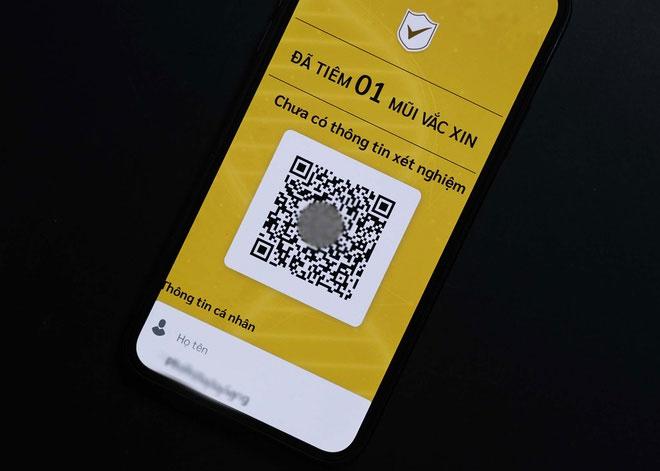 Mỗi người dân sẽ được cấp một mã QR cá nhân