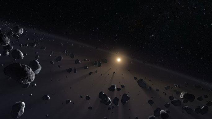 Các vật thể xuyên sao Hải Vương
