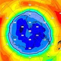 Choáng với kích thước lỗ thủng tầng ozone ở Nam Cực