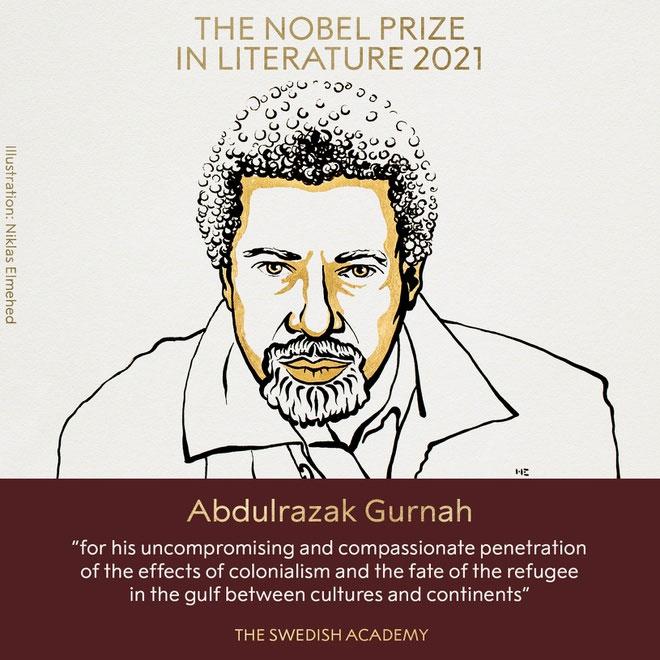Abdulrazak Gurnah - Người viết về hậu thuộc địa đoạt giải Nobel Văn học 2021