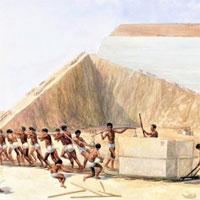 Kim tự tháp Ai Cập thực sự có phải do hàng trăm nghìn nô lệ xây dựng?