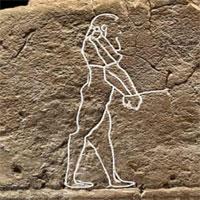 Phát hiện hình vẽ 3.500 năm tuổi mô tả hồn ma cô đơn