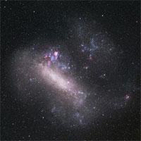 Thiên hà sắp va chạm với chúng ta từng nuốt chửng một thiên hà khác