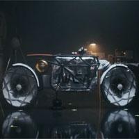 Môtô điện thám hiểm Mặt trăng vận tốc 15km/h